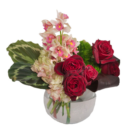 Orchids & Roses Bouquet