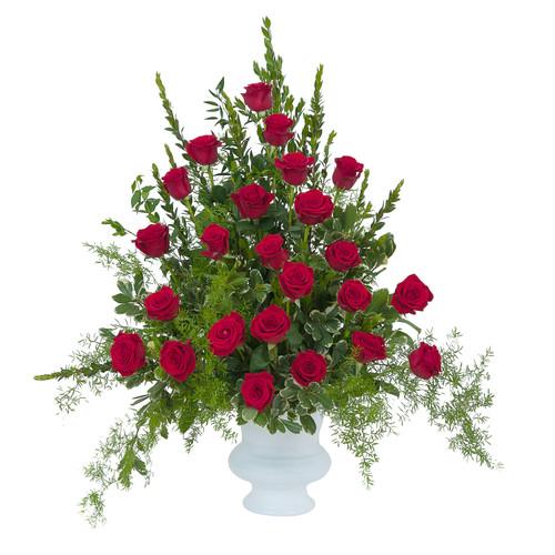 Royal Rose Urn-Deluxe