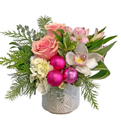 Blushing Pink Winter Bouquet
