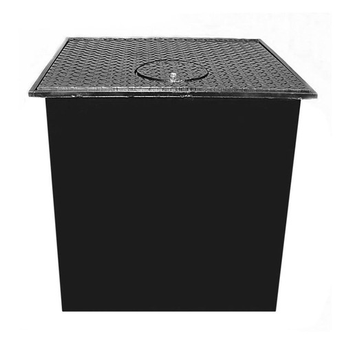 """Vault 24"""" x 24"""" x 24"""" Hinged, Locking, Water-Resistant, Lift-Assist"""