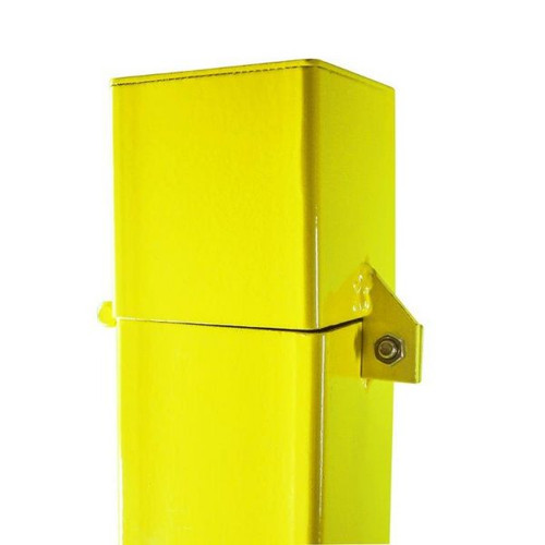 """4"""" x 5' Square Well Protector, Safety Yellow"""