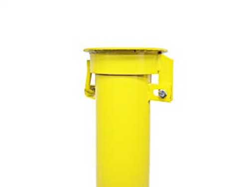 """8"""" x 5' Round Well Protector, Safety Yellow"""