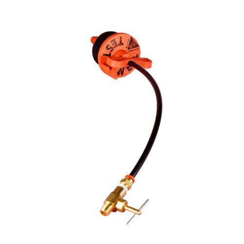 Vapor Sampling Plug  w/ Needle Valve