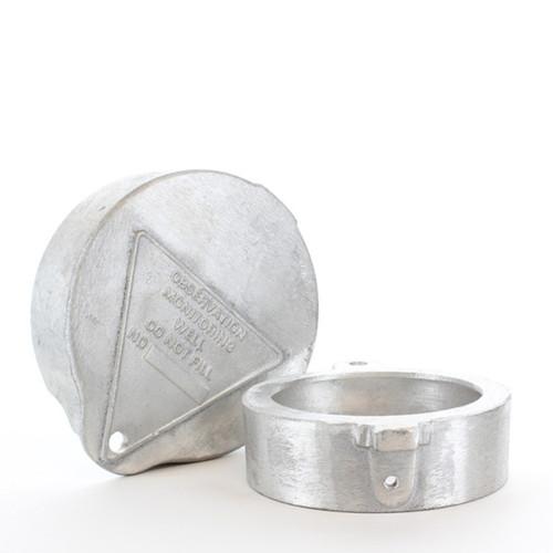 """7"""" Royer Aluminum Locking Well Cap"""