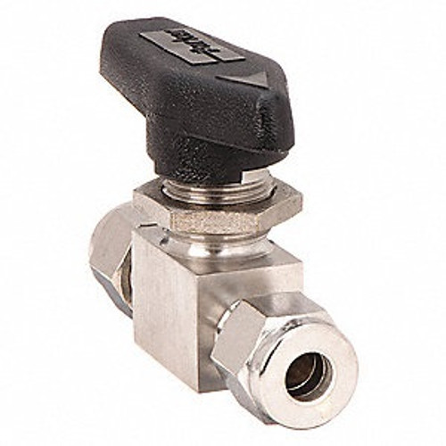 """1/4"""" Compression Ball Valve Stainless Steel"""