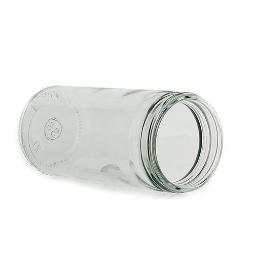 8 ounce 58MM Glass Paragon Jars 12 per box