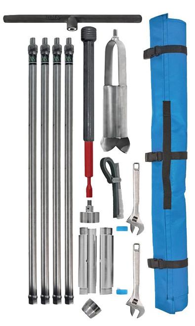 """3.25"""" Stainless Steel Soil Core Sampling Mini Kit"""