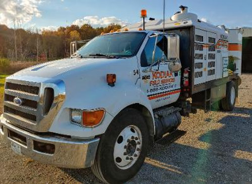 2008 Ford F650 w/ VacMasters System 4000 For Sale