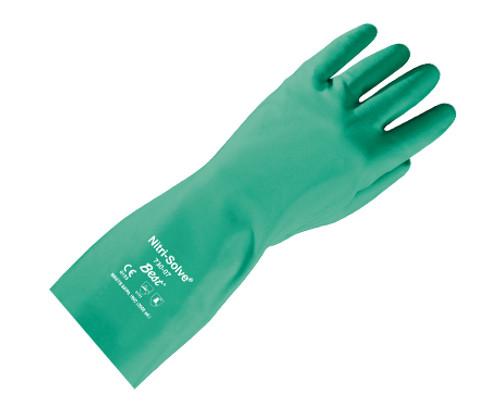 Nitri-Solve® Chemical-Resistant Flock-Lined Gloves, Size 10 (XXL)