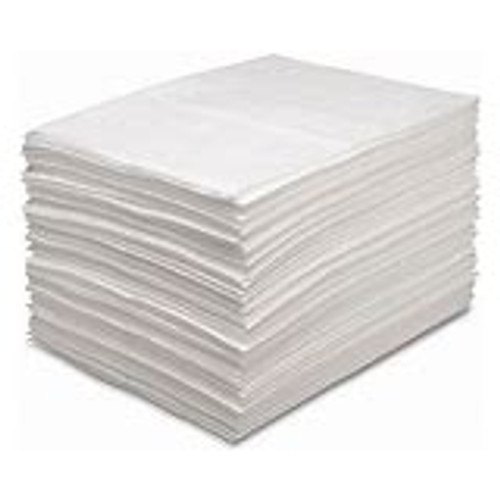 Oil Absorbent Pad 16 x 20 Med Weight / 100