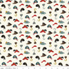Pirate Hats Cream, Riley Blake Pirate Tales Hats Cream cotton fabric, QTR YD