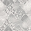 Grey Mountain Pines Fabric, Playroom AGF cotton fabric, QTR YD