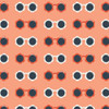 Sunny Shades Melon cotton fabrics design