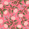 Pink peonies fabric, Rifle Paper Co. Wildwood pink peonies, QTR YD