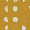 Mustard Moon fabric, Art Gallery Fabrics Lunation Bright , QTR YD
