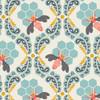Bee Sweet Morning cotton fabrics design