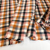 Nutmeg plaid fabrics design