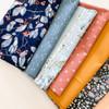 Earthen 8-piece fabrics design