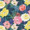 Floral Bouquet organic cotton fabrics design