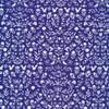 Blue woodland floral cotton fabrics design