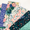 Cottage organic cotton fabrics design