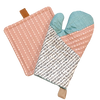 Quilted Oven Mitt Project Box Kit - AGF notions supplies box kit