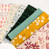 The Happy Hen 9-piece quilt fabrics design