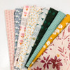 Happy Hen 9-piece quilt fabrics design