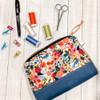 Zipper Pouch Pattern project kit-Fabrics design