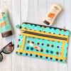 Twice As Nice Zipper Pouch Project Box Kit - clear zipper pouch project