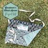 Gardener's Waist Linen Apron Project Kit - Sewing kit garden linen apron