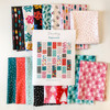 Peppermint Holiday Quilt Kit Bundle - AGF Quilt Pattern Kit Peppermint Fabrics