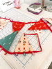 Cozy Holiday Fabric Banner Project Kit - Art Gallery Cozy & Magical Banner kit