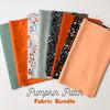 Fall Pumpkin Patch fabric 8 piece fall fabric bundle quilt cotton - Dear Stella Fabrics