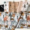 Winter Frost Holiday cotton fabric bundle 7 piece bundle FIGO Fabrics