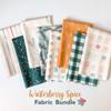 Winterberry Spice Holiday 8 piece fabric bundle - Art Gallery Fabrics quilt cotton bundle