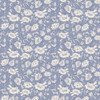 Blue floral fabric, Art Gallery Blooming Brook Moon quilt cotton, QTR YD