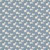 Blue white floral fabrics design
