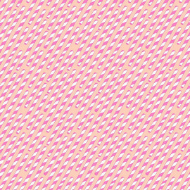 Pink straws fabrics design