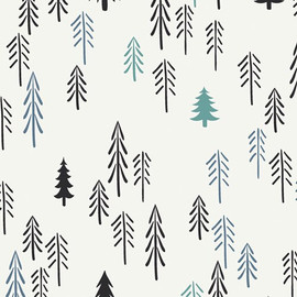 Loblolly Pine Tree fabrics design