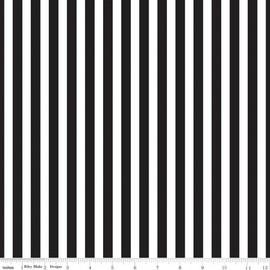 Black Stripe cotton fabrics design