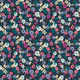 Posy Nightfall from Trouvaille fabrics design