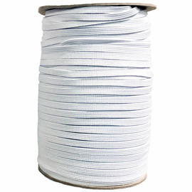 "1/4"" soft white elastic by the yard"