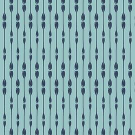 Paddle Rows cotton fabrics design