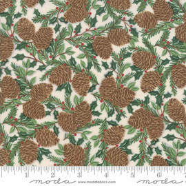 Christmas Pinecone Fabrics design