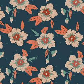 Autumn Nectar Mist Fabrics design