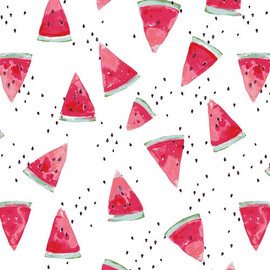 Watermelon quilt cotton fabrics design