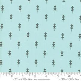 Blue Christmas tree Fabrics design