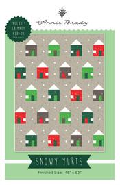 Snowy Yurts Quilt pattern by Annie Brady