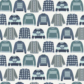 Winter Sweaters Art Gallery Fabrics design